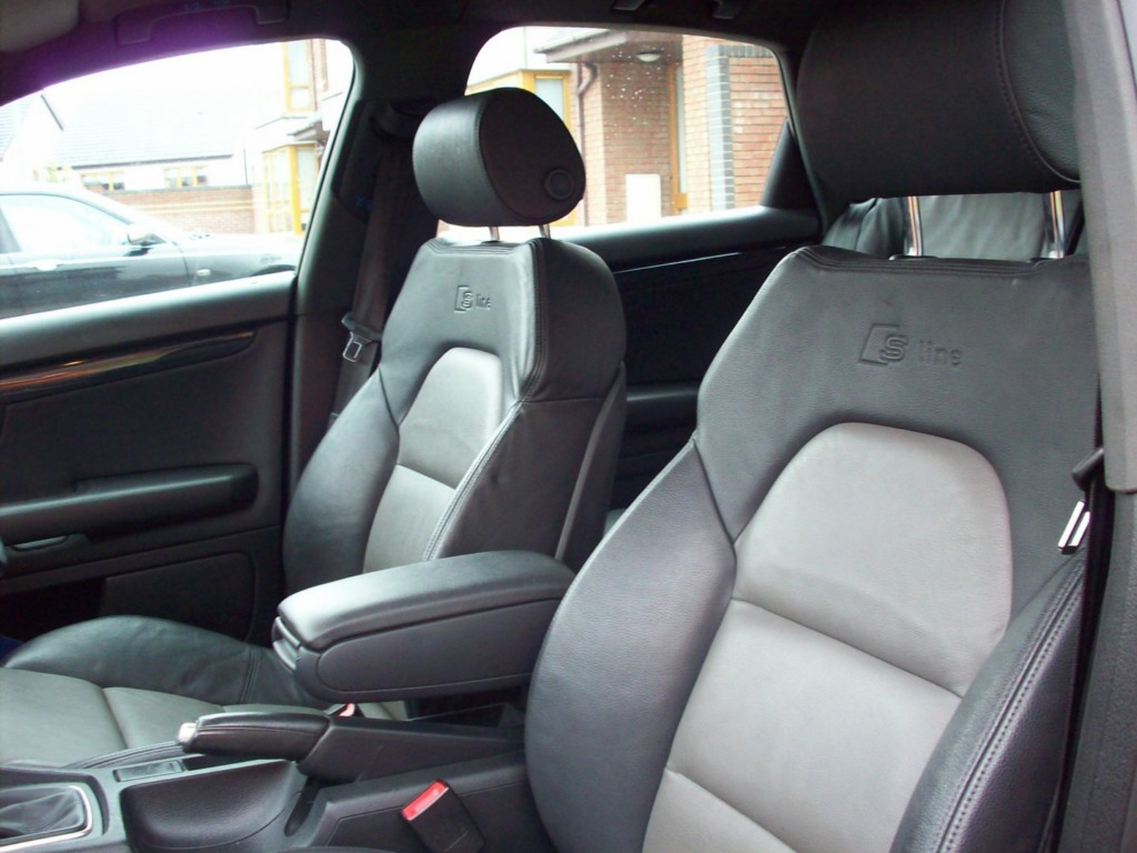 audi a4 2002 tdi s line conversion schwarz packet. Black Bedroom Furniture Sets. Home Design Ideas